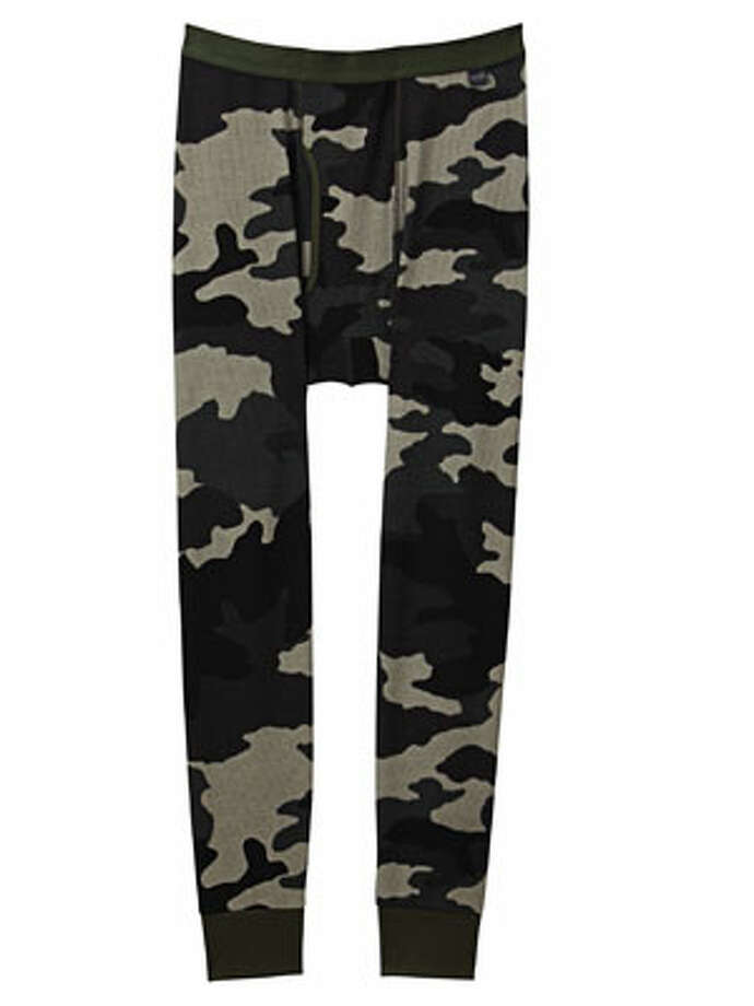Long JohnsSometimes, the best details are the hidden ones. Also: incredibly warm.Heattech Camouflage Long Johns ($19.90) by Uniqlo, uniqlo.com Photo: Contributed Photo
