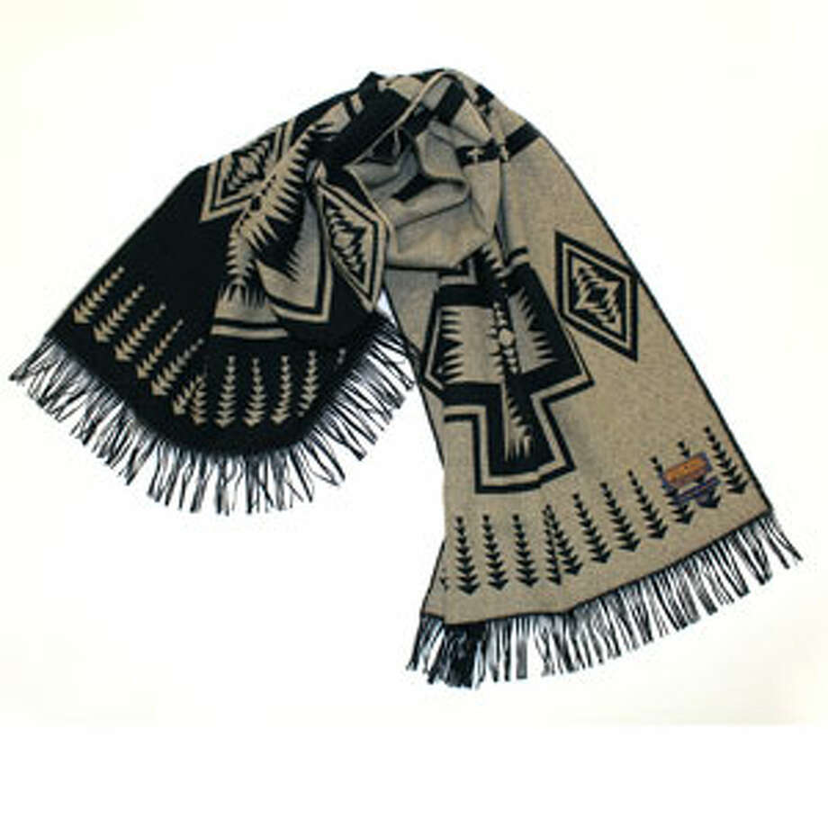 A ScarfTribal, but not too tribal.The Portland Collection Harding Scarf ($98) by Pendleton, pendleton-usa.com Photo: Contributed Photo