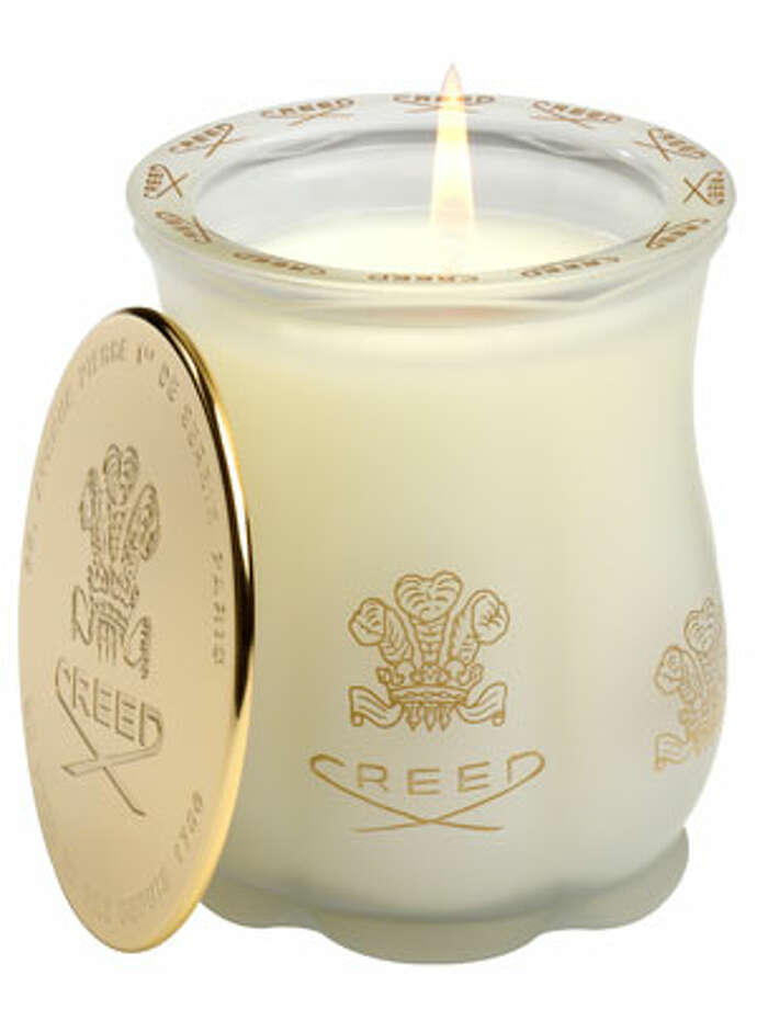 AA (Real) CandleBecause Glade plug-ins are for amateurs.Green Irish Tweed candle ($95) by Creed, creedboutique.com Photo: Contributed Photo