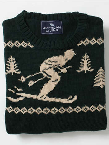 A Christmas Sweater Guess what? It's that time of year. And everyone needs one.