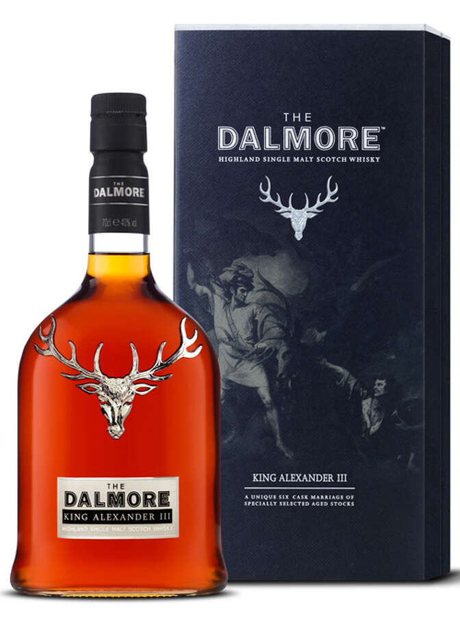 "The Best Boss in the Whole Damn WorldThe bottle alone shows the love — with its big pewter stag's head, it's about the Scotchiest-looking Scotch bottle out there. Add the contents — six barrels' worth of the Dalmore's fine old-stock whisky put for extra-aging into six other barrels, each of which formerly had a fine drinkable such as sherry, marsala, or port, and then bottled — and you've got a gift that says, ""Don't ever quit and make me have to work for that asshole Rogers."" The Dalmore King Alexander III single-malt Scotch whisky ($207).More: 18 Of-the-Month Clubs for Dad's Stocking Photo: Martin Eidemak, Contributed Photo"
