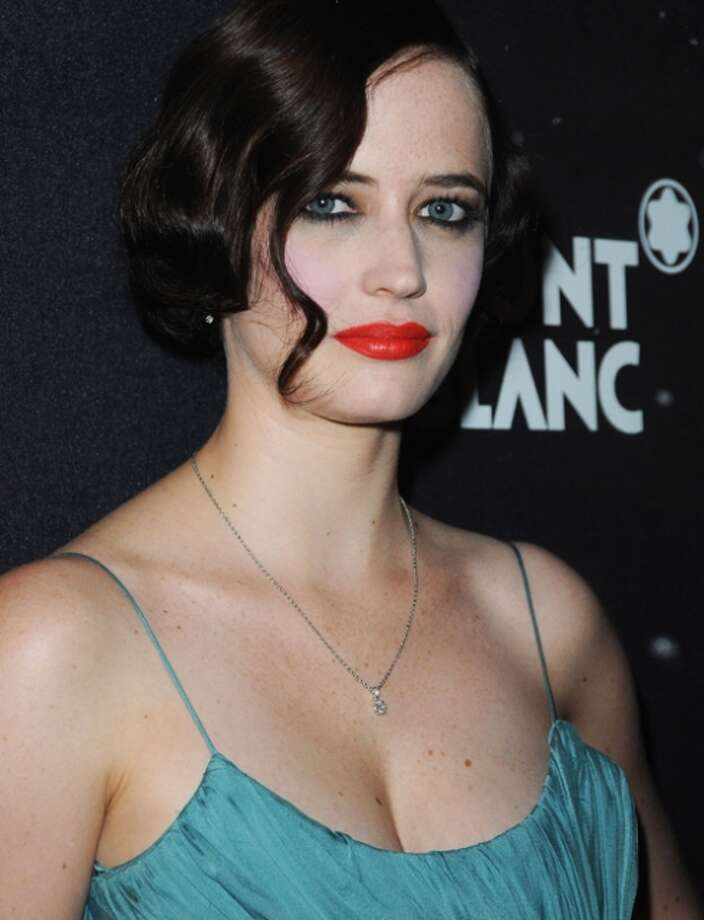 Eva Green -- French actress with an attitude, the star of CASINO ROYALE.