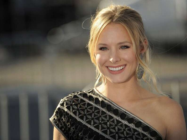 Kristen Bell -- appealing comic lead.