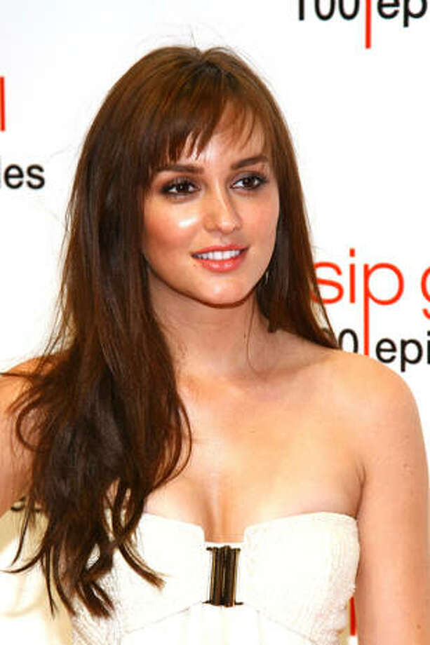 Leighton Meester -- charismatic star of THE ORANGES.
