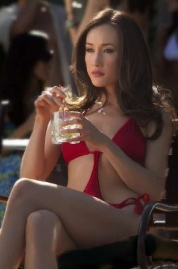 Maggie Q -- memorable in LIVE FREE OR DIE HARD and NEW YORK, I LOVE YOU -- and a big favorite on sfgate.