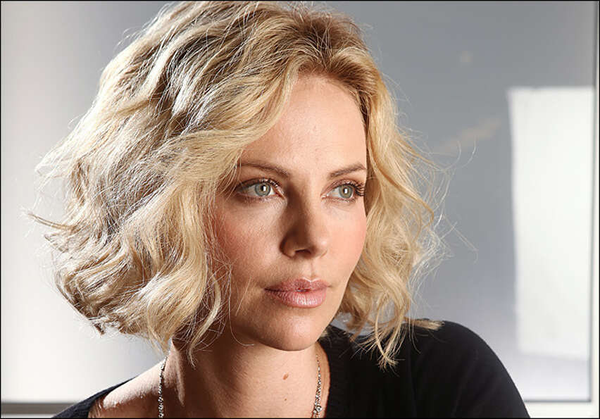 Charlize Theron -- she was the fairest of them all in SNOW WHITE AND THE HUNTSMAN, and she played th
