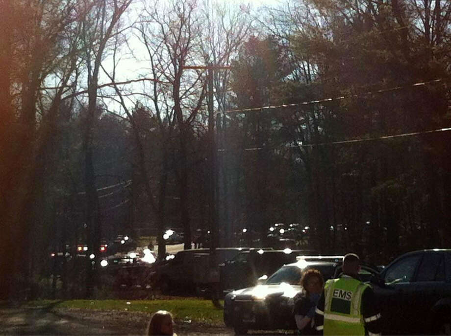 State police are responding to multiple shootings at Sandy Hook Elementary School in Newtown, Conn. on Dec. 14, 2012., according to reports. All schools in town are locked down. Photo: Labor Jany / The News-Times