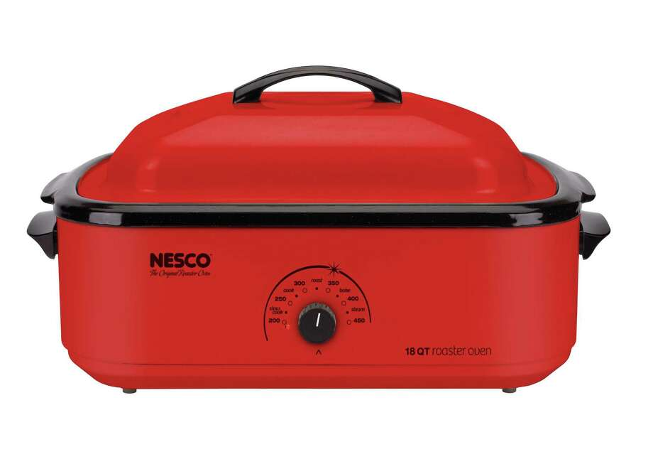 The 18-quart Nesco Roaster is the brand's top-selling electric roaster. Photo: Courtesy