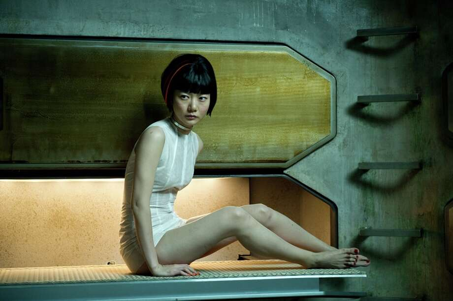"DOONA BAE as Sonmi-451 in the epic drama ""CLOUD ATLAS,"" distributed domestically by Warner Bros. Pictures and in select international territories. Photo: Jay Maidment / © 2012 Warner Bros. Entertainment Inc. in The United States of America and Canada © 2012 Cloud Atlas Production GMBH and X Filme Creative Pool GMBH"