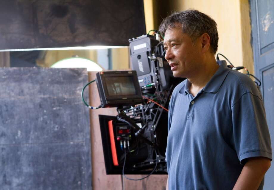 Ang Lee directing Life of Pi