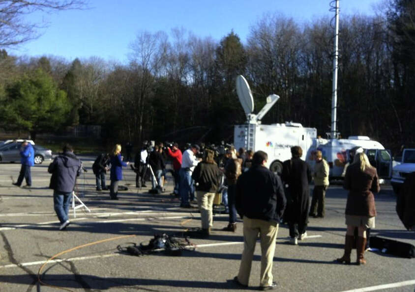 Autorities had scheduled a press conference for 1 p.m. regarding the Sandy Hook Elementary School