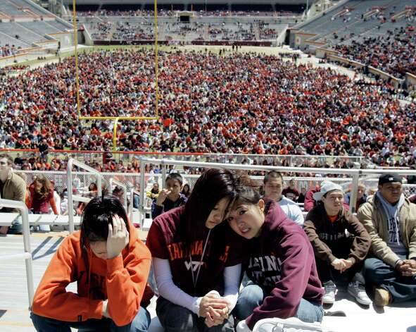 1. April 16, 2007, Virginia Tech University in Blacksburg, Va. Seung-Hui Cho, 23, killed 32 people and himself. All but two of the casualties were in a classroom building. Photo: Amy Sancetta, AP / AP