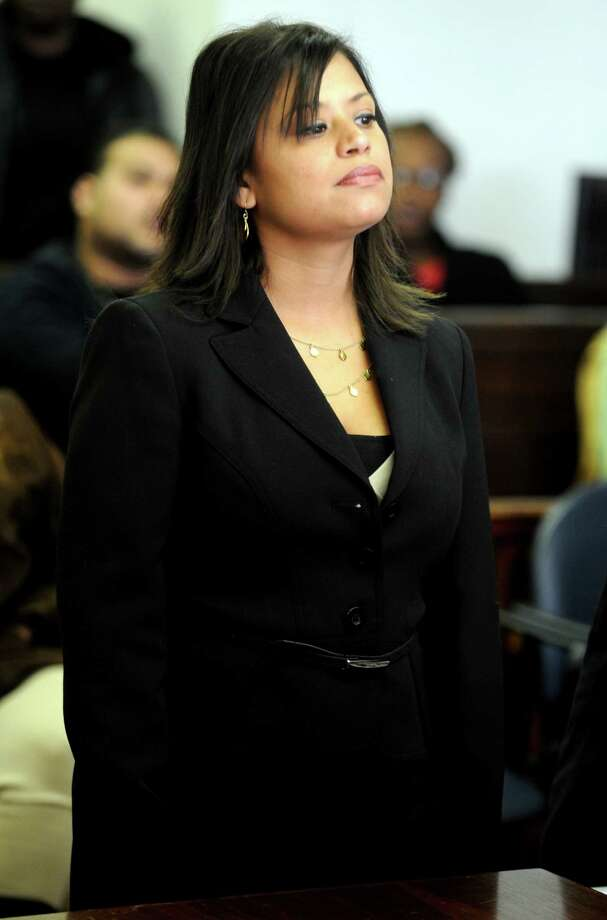 Incoming state Rep. Christina Ayala appears in Superior Court in Bridgeport Friday, Dec. 14, 2012. Photo: Autumn Driscoll / Connecticut Post