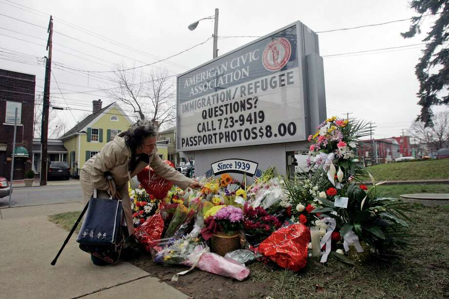 Jiverly Wong, 41, killed 13 people at the American Civic Association immigration center, then himself. Photo: Mike Groll, AP / AP
