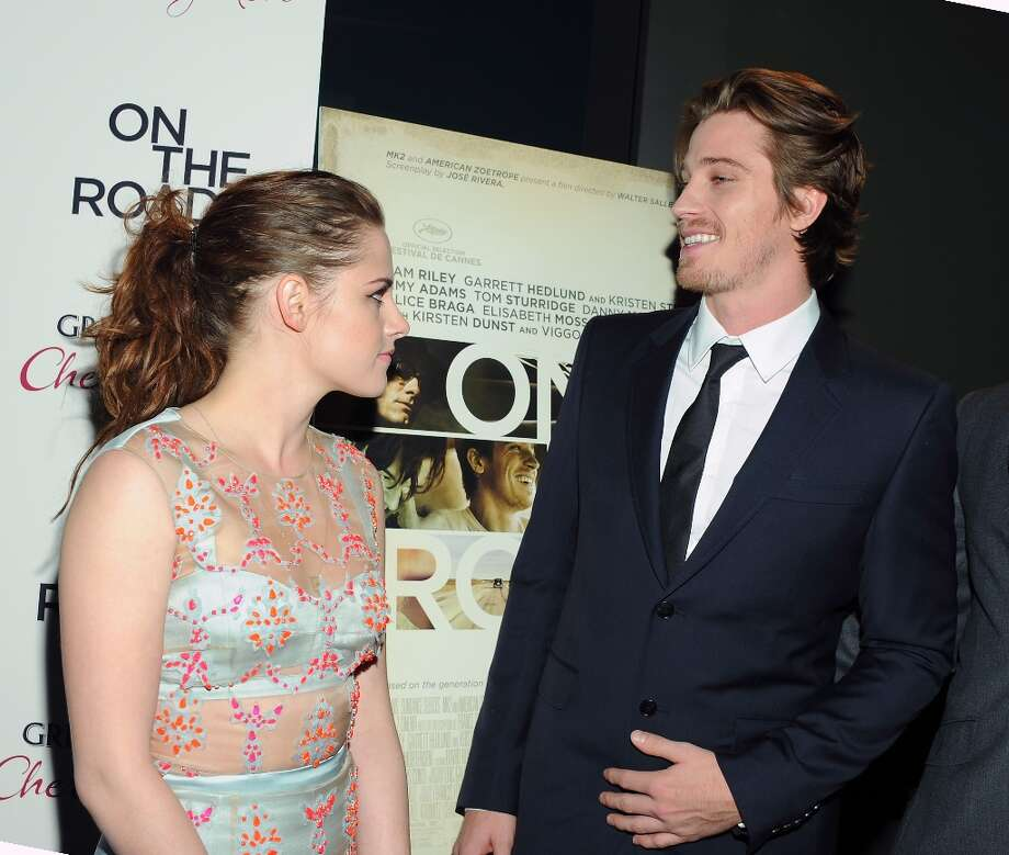 Actors Kristen Stewart and Garrett Hedlund attend the premiere of On The Road at the SVA Theater on Thursday Dec. 13, 2012 in New York. (Photo by Evan Agostini/Invision/AP) Photo: Evan Agostini, Associated Press / Invision
