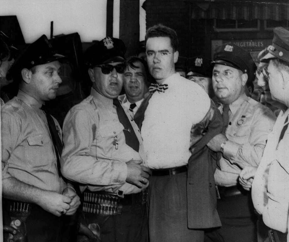 Army veteran Howard Unruh gunned down 13 people while walking around his neighborhood. He was declared a paranoid schizophrenic and sent to a psychiatric hospital without a trial. He died in 2009 at a Trenton, N.J., nursing facility. Photo: ASSOCIATED PRESS / AP1949