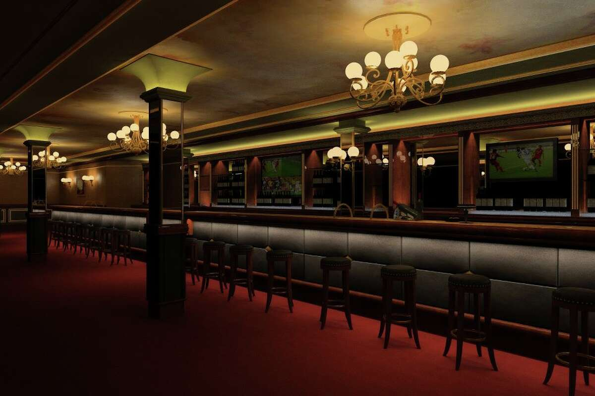 The bar, rendered...