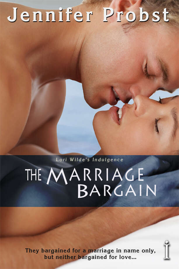 6. The Marriage Bargain(Jennifer Probst) Beautiful Alexa and handsome Nick (a billionaire, of course) get married for some contrived reason, but end up in steamy situations. Amazon reviewer (maldivianbookreviewer) gives a window on the book's popularity: '(The) magic that unfolds ...left my throat parched, in dire need of a cool, tall glass of iced water to smooth things over.'