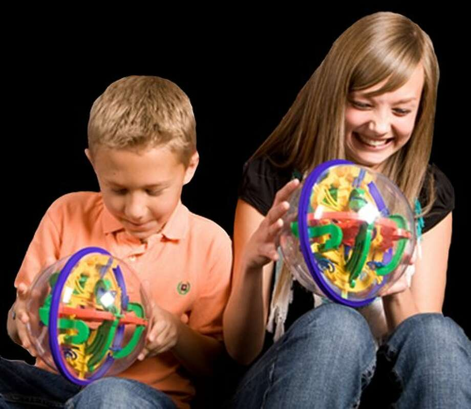 Perplexus. The puzzles are reported to be popular at Whole Earth stores this shopping season. (Amazon.com)