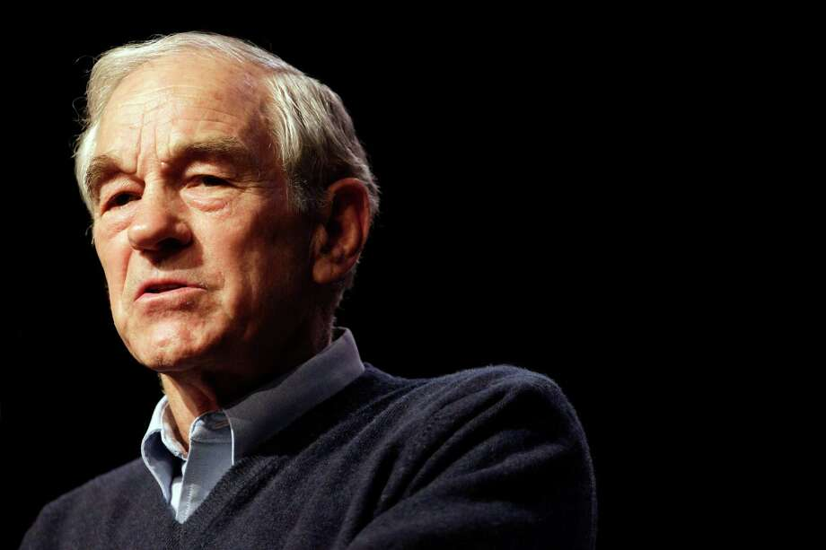 Ron Paul speaks with supporters at Twin Falls Senior High School Thursday, Feb. 16, 2012 in Twin Falls, Idaho. Photo: Marcio Jose Sanchez, Associated Press / AP
