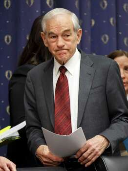 Ron Paul is seen on Capitol Hill in Washington. Photo: J. Scott Applewhite, Associated Press / AP