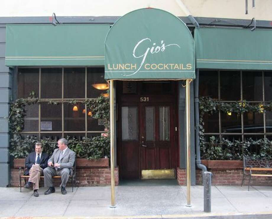 Financial District lost a watering hole in Gio's...