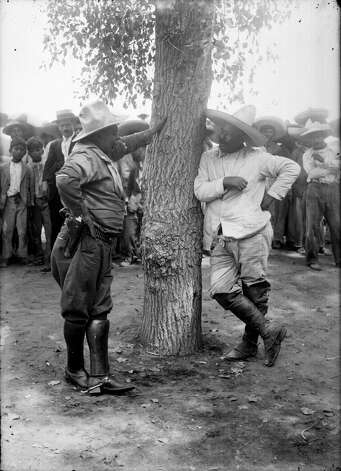 Pancho Villa's (right) surrender to Gen. Eugenio Martinez on July 23, 1920 was suprisingly cordial, ending almost 10 years of civil war.