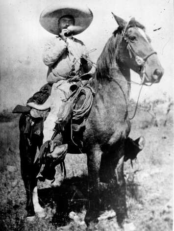 Zapata takes a cigarette break from battle.