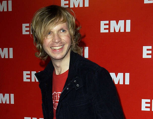 "Beck Hansen hopes ""Song Reader,"" which includes 20 songs annotated on sheet music, will give people the urge to pick up instruments and sing songs. Photo: Associated Press / AP"
