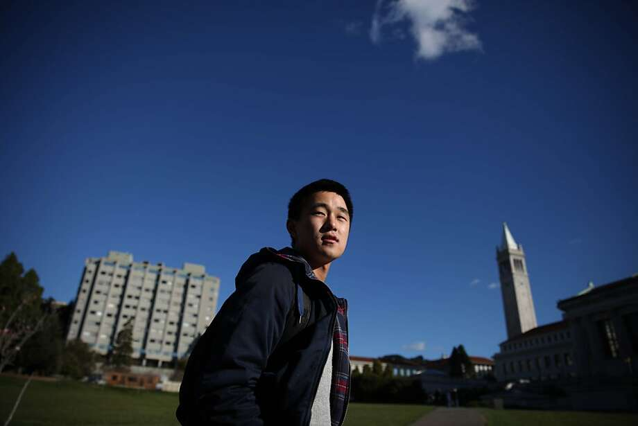 Ju Hong, UC Berkeley senior, walks on campus at UC Berkeley, on Thursday, December 13, 2012. Photo: Lea Suzuki, The Chronicle