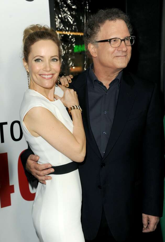 Actress Leslie Mann and Actor/Director Albert Brooks attend the premiere of Universal Pictures' This Is 40 at Grauman's Chinese Theatre on December 12, 2012 in Hollywood, California.  (Photo by Kevin Winter/Getty Images) (Getty Images)