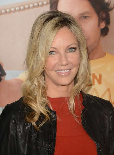 Actress Heather Locklear arrives at the 'This Is 40' - Los Angeles premiere at Grauman's Chinese The