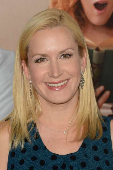 Actress Angela Kinsey attends the Premiere Of Universal Pictures' This Is 40 at Grauman's Chinese Th