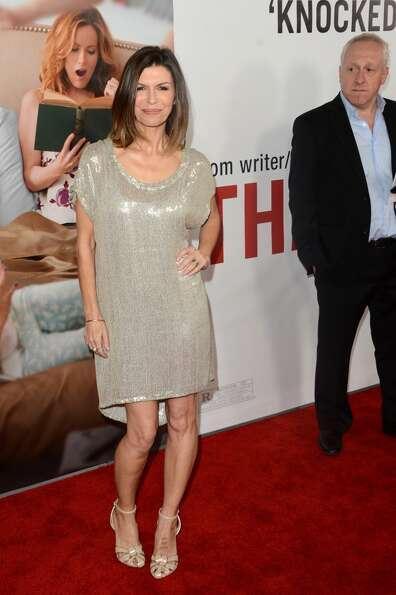 Actress Finola Hughes attends the Premiere Of Universal Pictures' This Is 40 at Grauman's Chinese Th