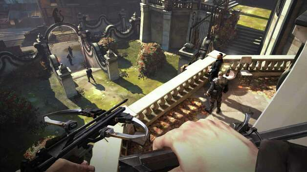 Dishonored  by Bethesda retails for $60 for Xbox 360, PS 3 and PC   Plays very fun. Looks good. Challenging. Rated  M  for blood, gore, intense violence, sexual themes and strong language. Four out of four stars. Photo: Bethesda