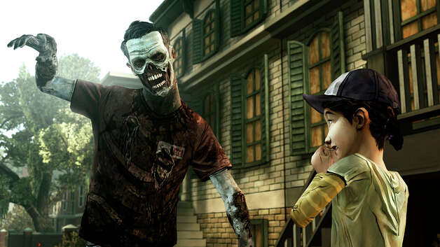 "This undated publicity photo provided by Telltale Games shows a scene from the video game, ""The Walking Dead: The Game.""(AP Photo/Telltale Games) Photo: AP, HOEP / Telltale Games"