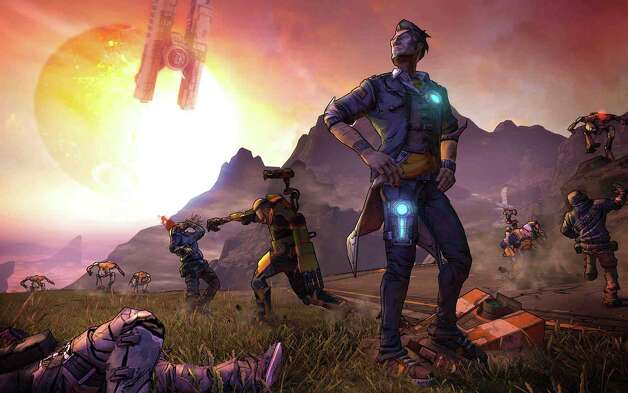 Borderlands 2  by 2K Games retails for $60 for Xbox 360, PS 3 and PC   Plays insanely fun. Looks great. Challenging. Rated  M  for blood, gore, intense violence, language, sexual themes, use of alcohol. Four out of four stars. Photo: 2K Games