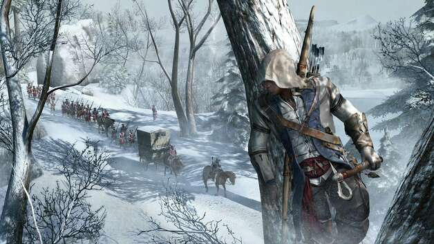 Assassin s Creed III  by Ubisoft retails for $60 for Xbox 360 and PS 3; $50 for PC   Plays dull. Looks great. Moderately challenging. Rated  M  for blood, intense violence, sexual themes and strong language. N/A out of four stars. Photo: Ubisoft