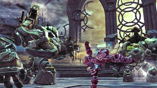 Darksiders II  by THQ retails for $60 for Xbox 360 and PS 3   Plays frustrating. Looks great. Sporadically, incredibly challenging. Rated  M  for blood, gore, suggestive themes and violence. NA out of four stars. Photo: THQ