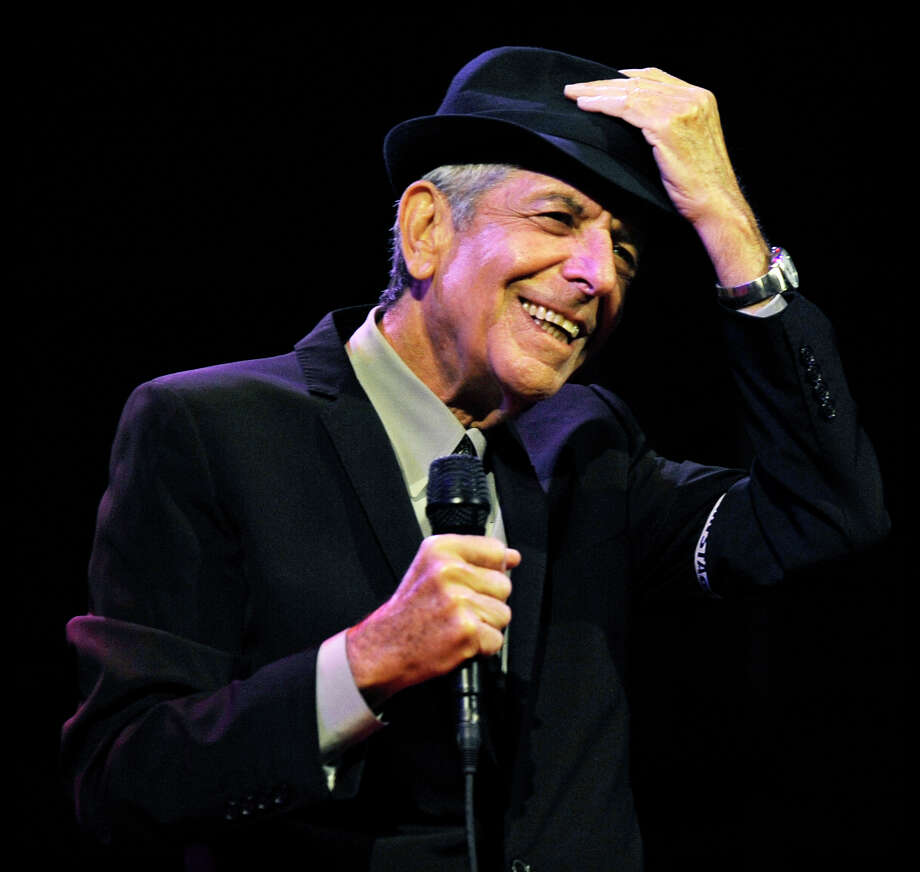 "FILE - In this April 17, 2009 file photo, Leonard Cohen performs during the first day of the Coachella Valley Music & Arts Festival in Indio, Calif. It's hard to think of any song that has taken a stranger journey through popular culture than Leonard Cohen's ""Hallelujah."" Author Alan Light's book, ""The Holy or the Broken,"" releasing on Dec. 4, 2012, is about the trajectory of the song, ""Hallelujah,"" and about Cohen and its most celebrated singer, the late Jeff Buckley. (AP Photo/Chris Pizzello, File) Photo: Chris Pizzello, STF / AP"
