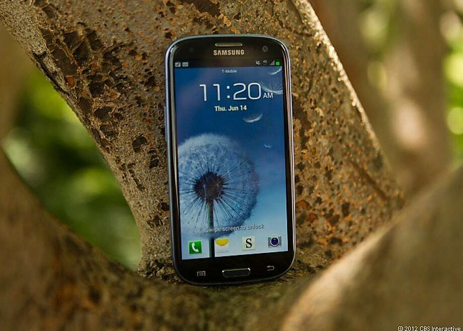 Apple says Samsung's Galaxy S3 smartphone, on Google's Android operating system, infringes on Apple patents. Photo: Cnet