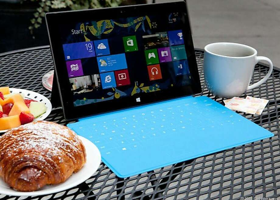 Microsoft Surface tablet computer Photo: Cnet