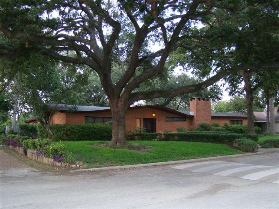 "This 1956 ranch house in Glenbrook Valley has been listed as a historic landmark. The house is 5,924 square feet but has only three bedrooms, though those rooms are ""just absolutely unbelievably huge."" Photo: City Of Houston"