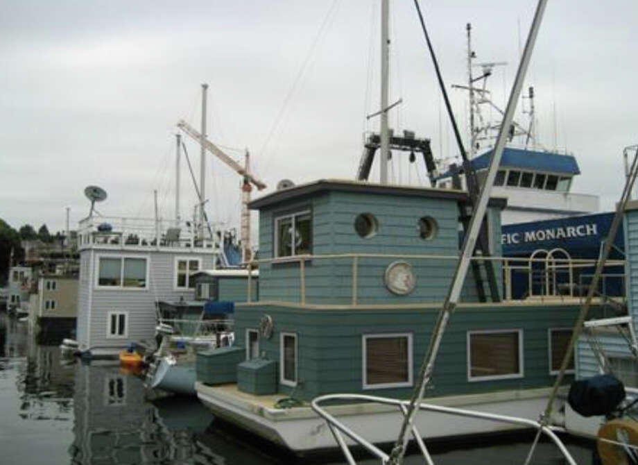 This is not a floating home or a vessel. It is a house barge, a type of 