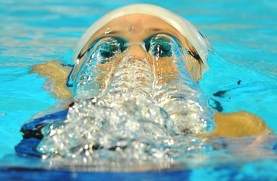 Marce Duane Da Rocha of Spain competes during the women`s 200m backstroke qualification on December 14, 2012, during the FINA World Short Course Swimming Championships in Istanbul.  Photo: Bulent Kilic, AFP/Getty Images