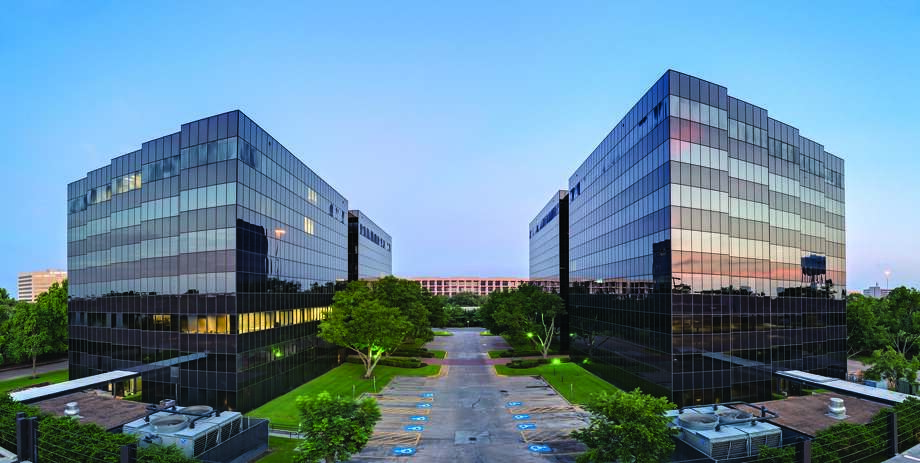 KBS Strategic Opportunity REIT has purchased the West Loop I and II office buildings, with 313,873 square feet, in Bellaire. Photo: Courtesy Photo