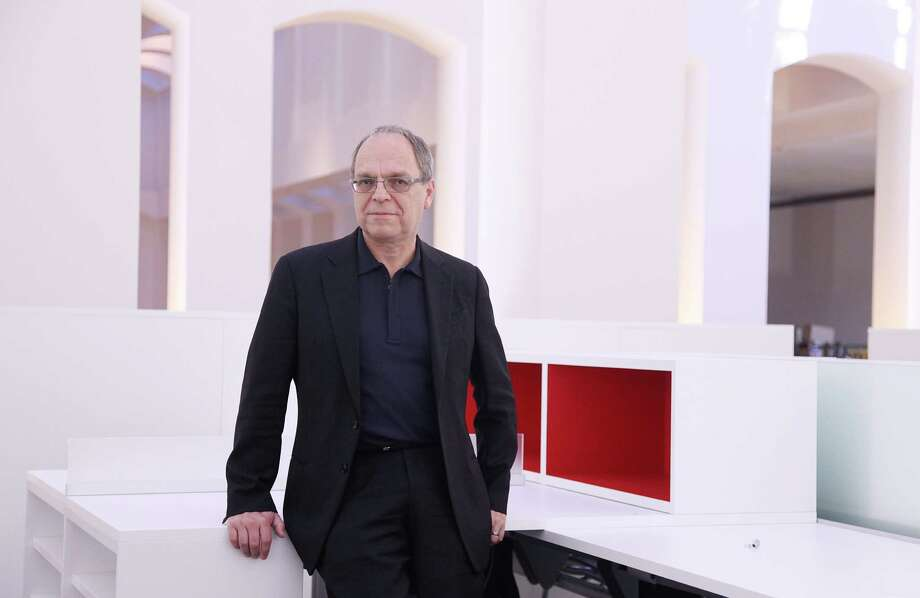 Roger Soto is the new design director at Ziegler Cooper Architects, which is relocating to Bank of America Center at 700 Louisiana. Soto is a Rice University graduate and former president of Odell in Richmond, Va. Photo: Mayra Beltran, Staff / © 2012 Houston Chronicle