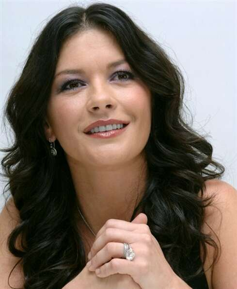 Catherine Zeta Jones -- like Juliette Binoche, even more beautiful in her forties. See her in PLAYIN