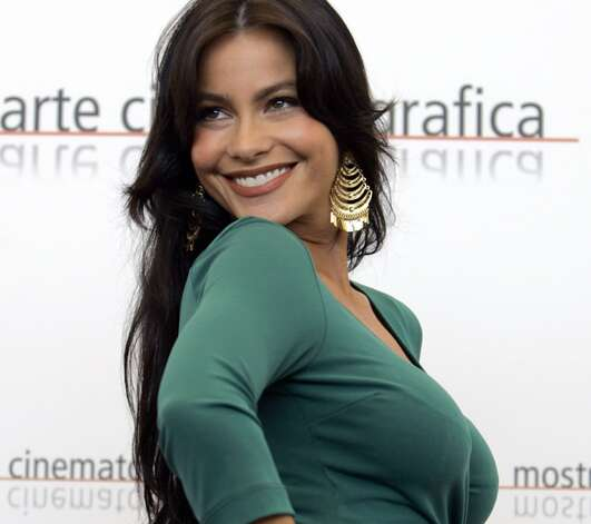 Sofia Vergara -- wonderfully vivacious Colombian actress.