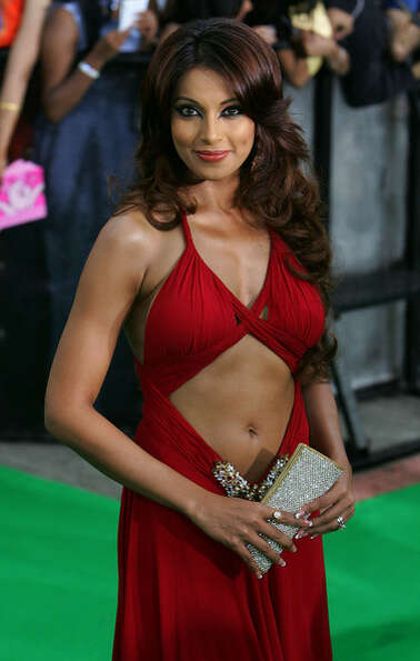 Bipasha Basu -- popular Bollywood star and screen femme fatale.